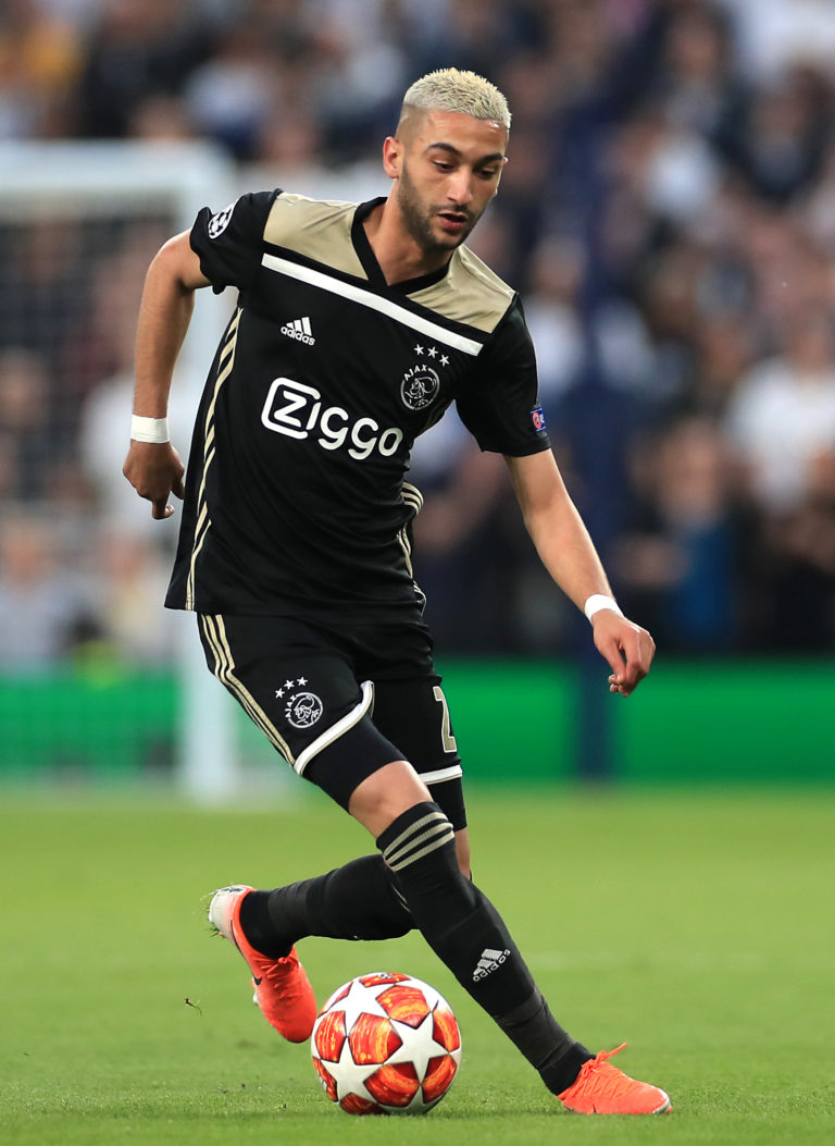 Hakim Ziyech becomes a Chelsea player on July 1