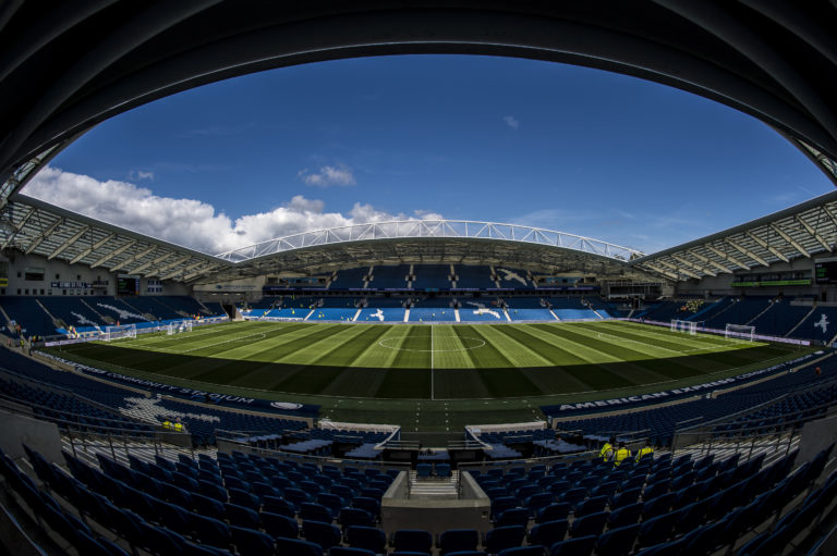 Brighton may not get to play games at their Amex Stadium if the Premier League opt to use approved venues only