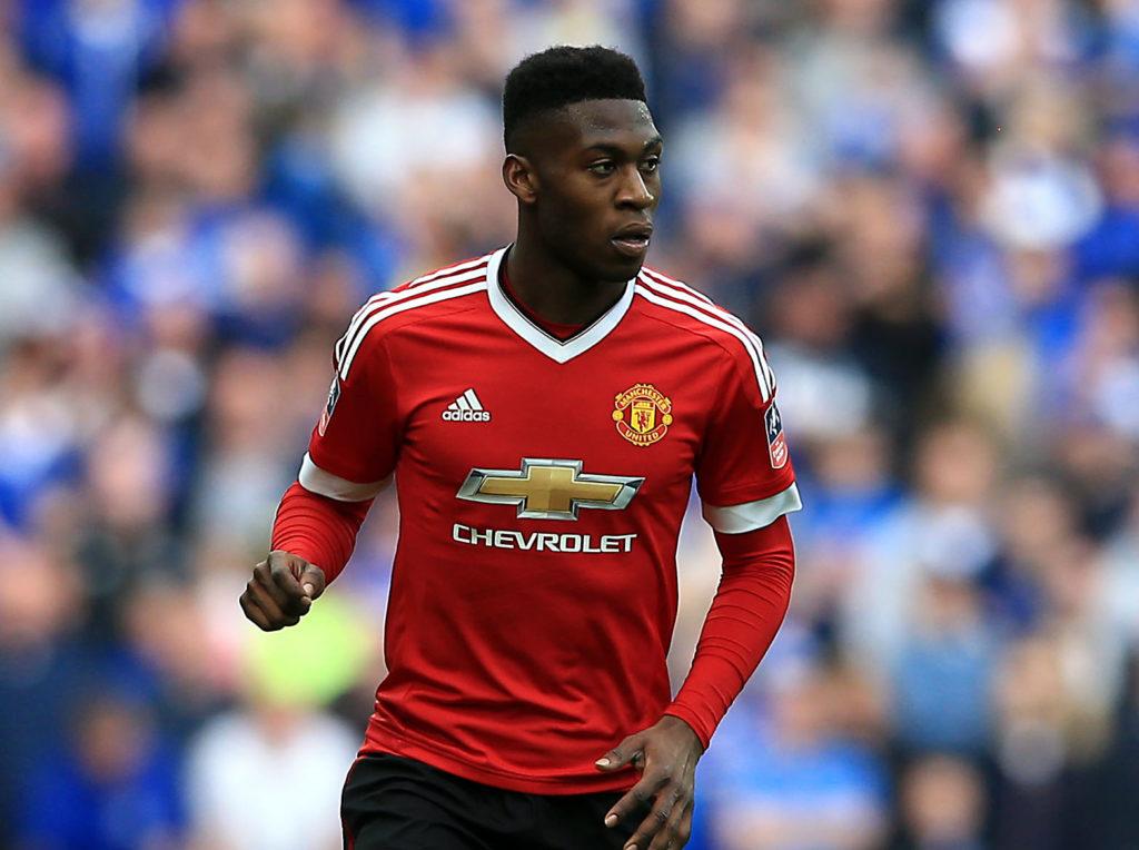 Manchester United's Timothy Fosu-Mensah