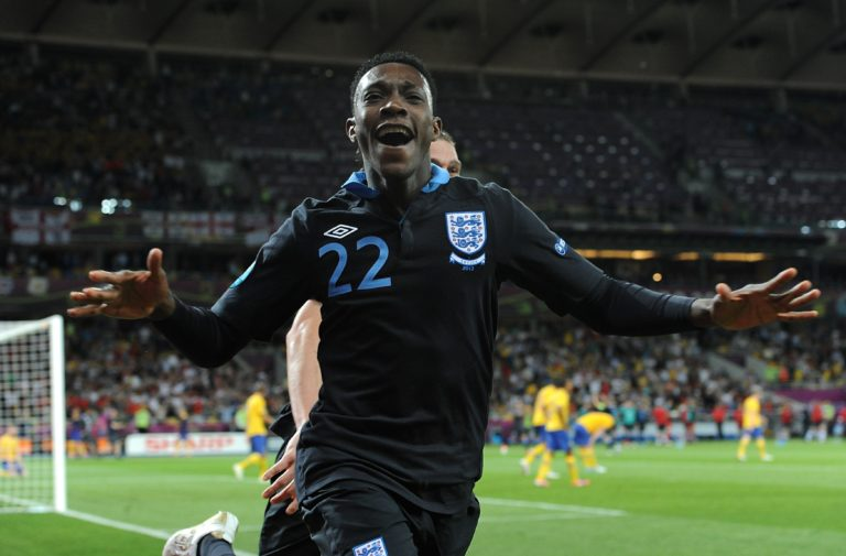Danny Welbeck netted England's winner against Sweden at Euro 2012
