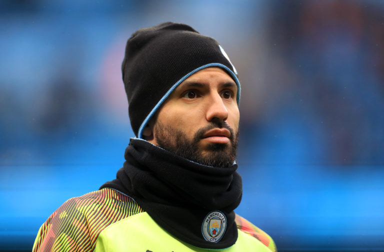 Sergio Aguero has expressed caution at returning to action
