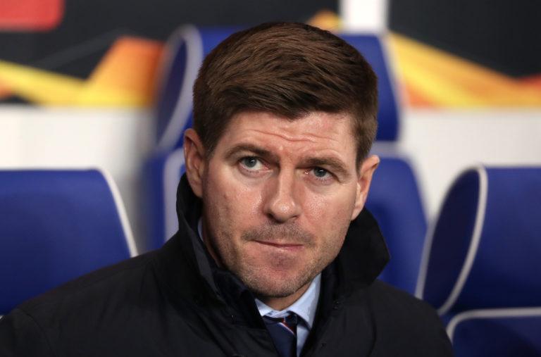 Steven Gerrard's side sit second in the Ladbrokes Premiership standings