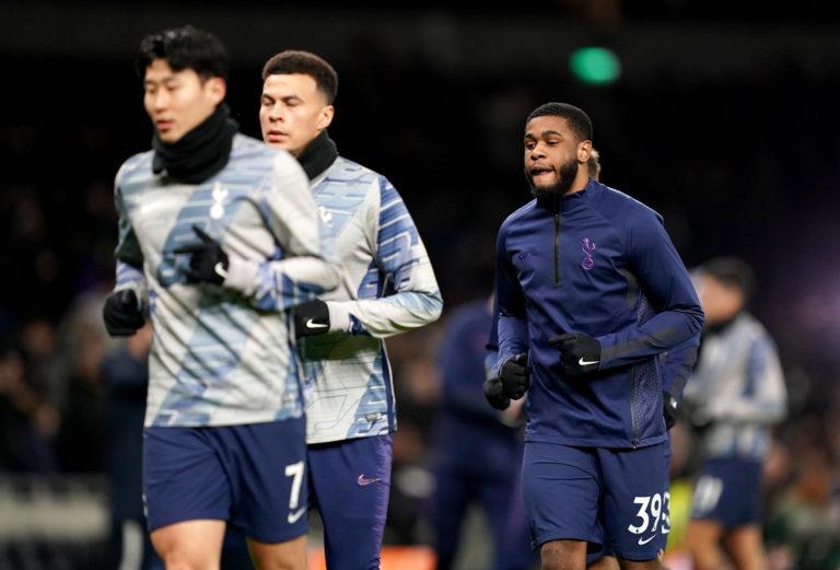 Tanganga has integrated himself into the Tottenham squad