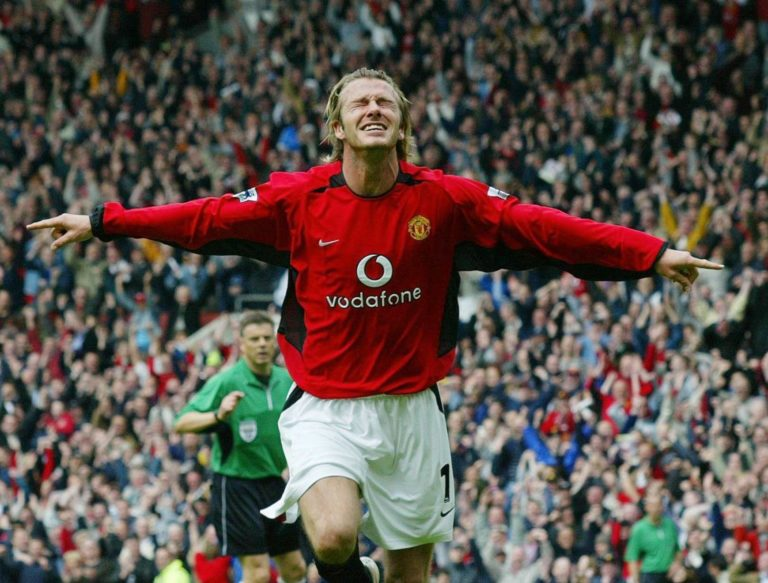 David Beckham was a key player for United