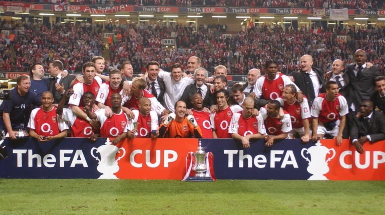 Arsenal won the FA Cup inside two weeks