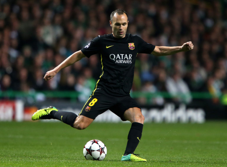 Fernandes says he is inspired by Andres Iniesta