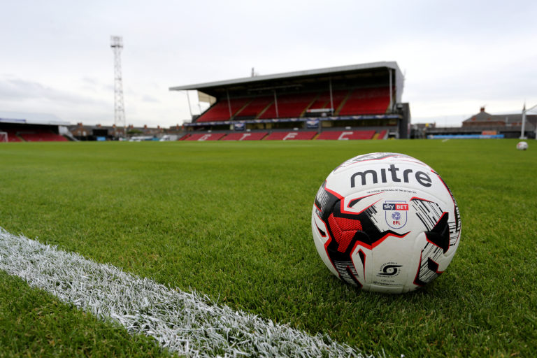 It is unclear when Blundell Park will next be able to host fans