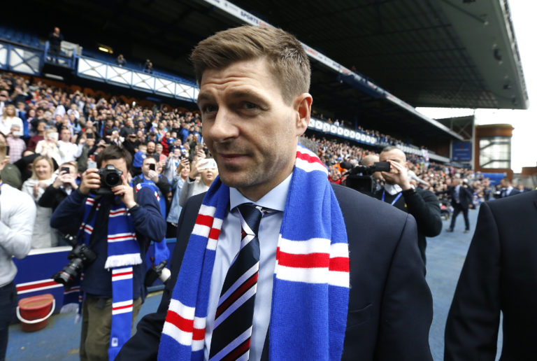 Steven Gerrard was appointed two years ago this week