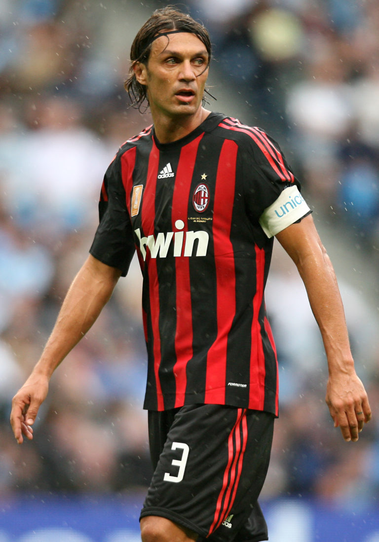 Paolo Maldini is an AC Milan great