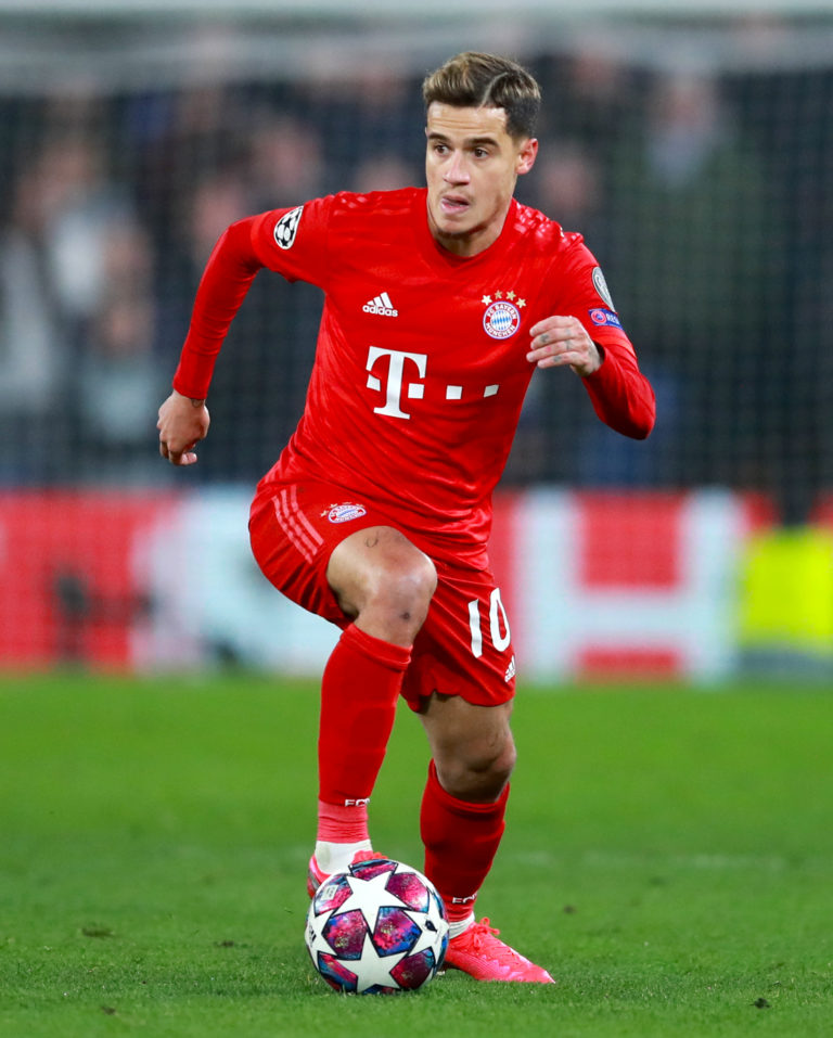 Philippe Coutinho is back playing in red