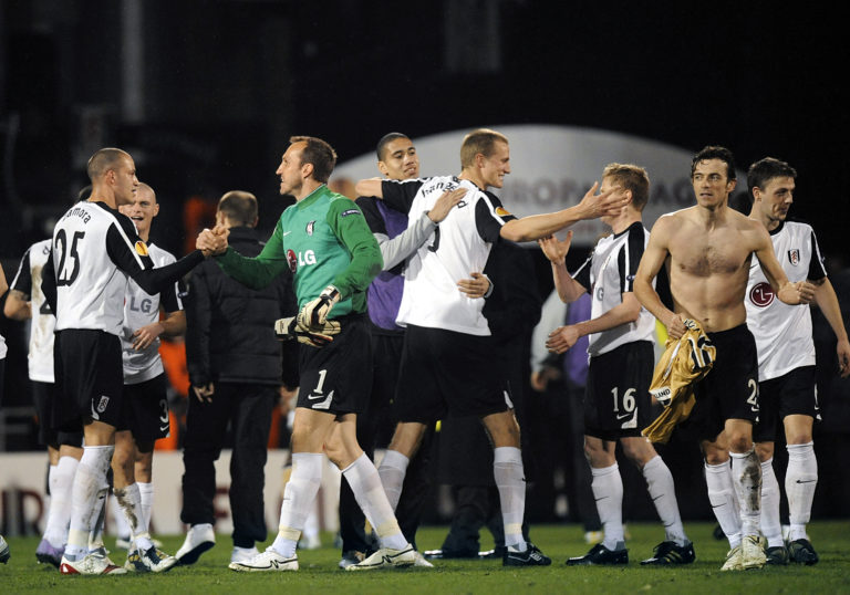 Fulham beat Juventus 4-1 in one of their most famous nights in the club's history