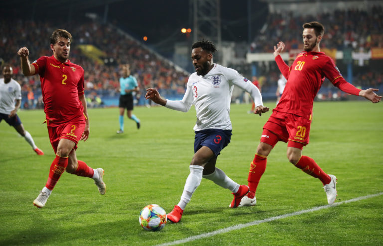 Danny Rose and some England team-mates were subjected to racist abuse in Montenegro last year
