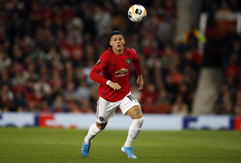 Manchester United defender Marcos Rojo is on loan at Estudiantes