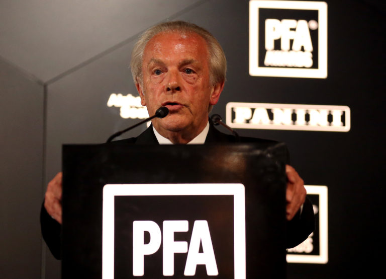 Professional Footballers' Association chief executive Gordon Taylor is optimistic of a restart