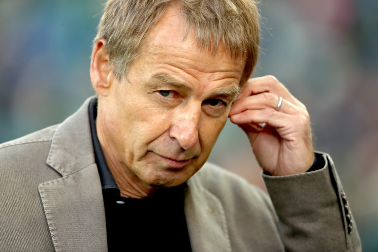 Jurgen Klinsmann was appointed Hertha Berlin manager in November - and left in February