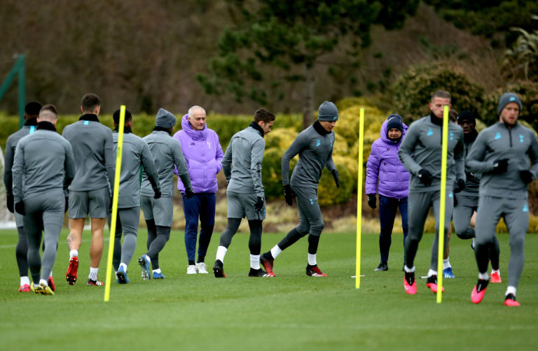 Jose Mourinho misses being out on the training ground