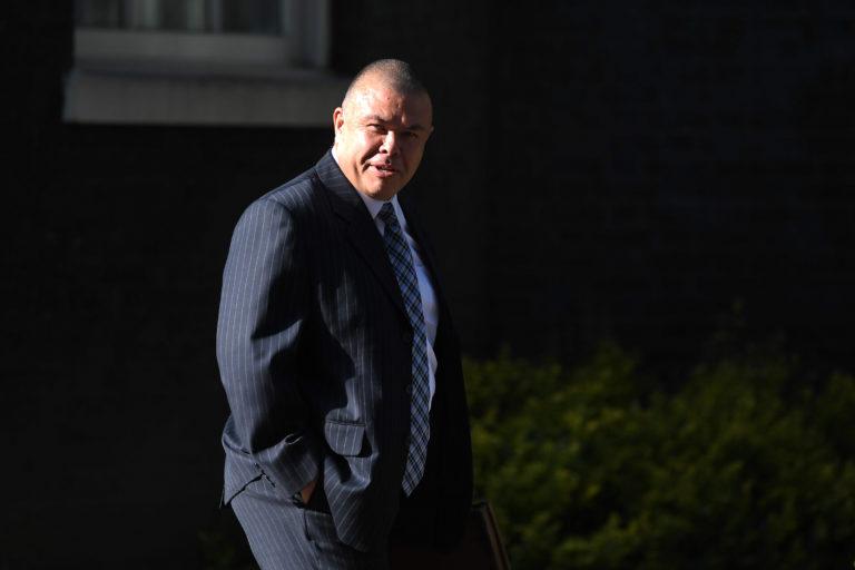 Deputy chief medical officer Jonathan Van-Tam spoke at the daily briefing at Downing Street