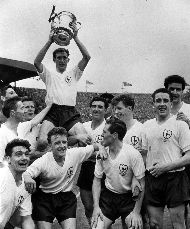 Spurs clinched the double in 1961