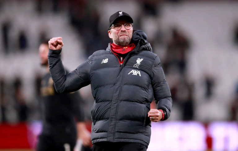 Klopp admits he is missing his squad during the Premier League's suspension