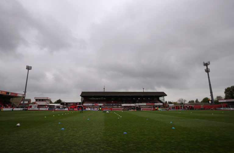 Cheltenham secretary Paul Godfrey is worried about finances of League Two clubs if it remains behind closed doors