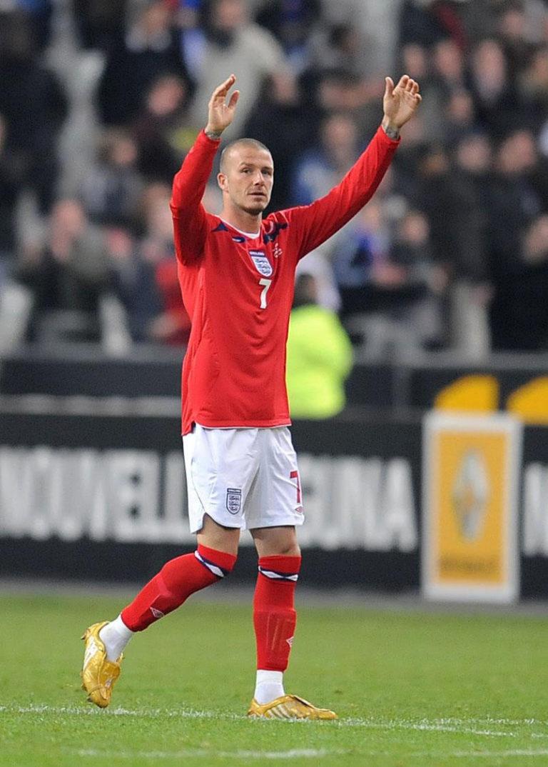 David Beckham was a vital player for England