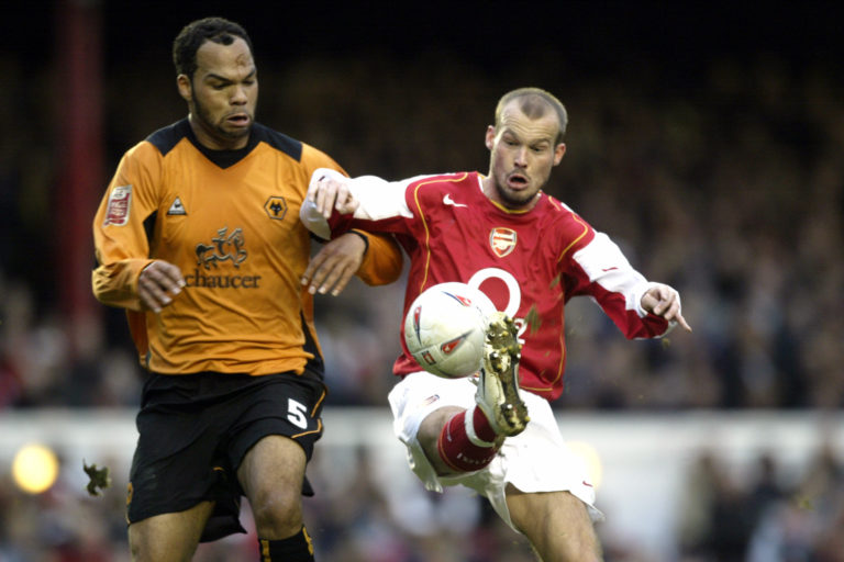 Former Wolves players including Joleon Lescott, left, helped raise funds