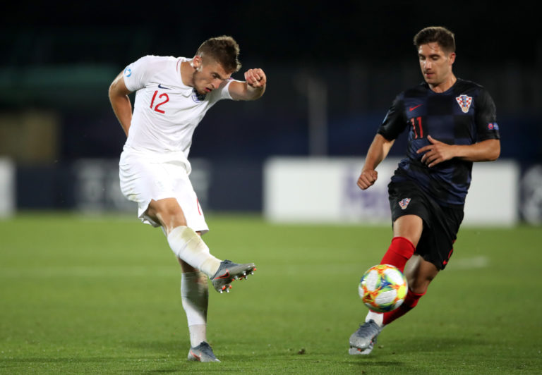 England Under-21s international Jonjoe Kenny started for Schalke 04