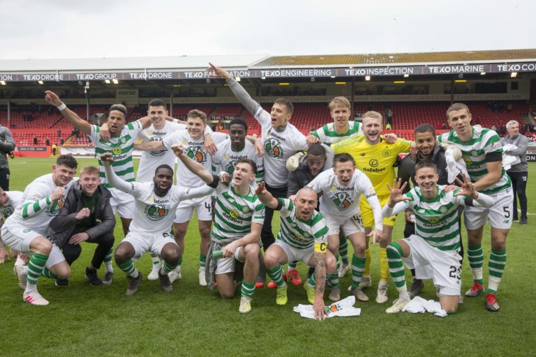 Celtic celebrated at Pittodrie