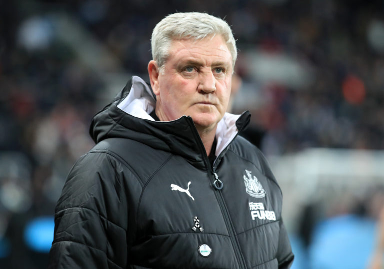 Steve Bruce does not think resuming the Premier League before July is realistic
