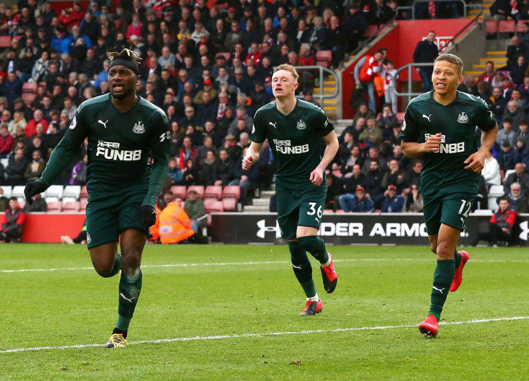 Newcastle have not played since the March 7 win at Southampton