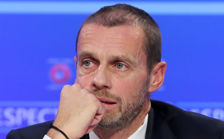 UEFA President Aleksander Ceferin is confident about leagues finishing