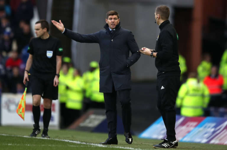 Rangers were frustrated by Aberdeen