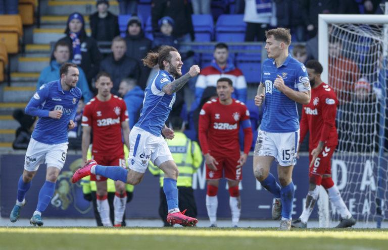 Stevie May denied Rangers