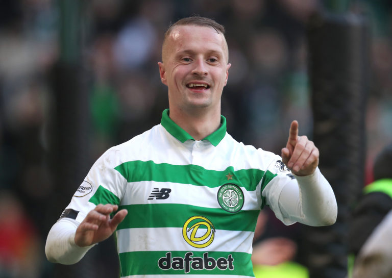 Leigh Griffiths netted a hat-trick
