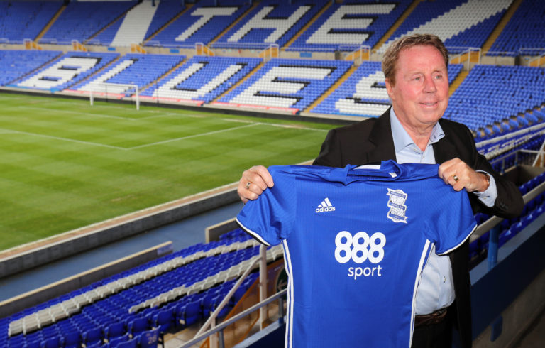 Harry Redknapp's last managerial role was with Birmingham in 2017 (Chris Radburn/PA)