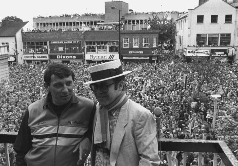 Elton John and Graham Taylor – Watford