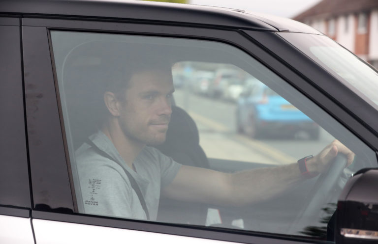 Jordan Henderson returned to Liverpool's Melwood training base on Tuesday (Peter Byrne/PA)