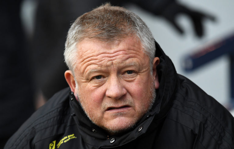 Chris Wilder File Photo