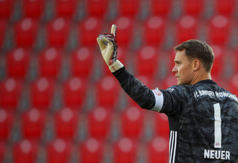 Manuel Neuer returned to action as Bayern won at Union Berlin on Sunday