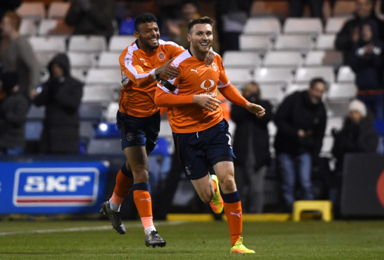 O'Donnell previously played for Luton