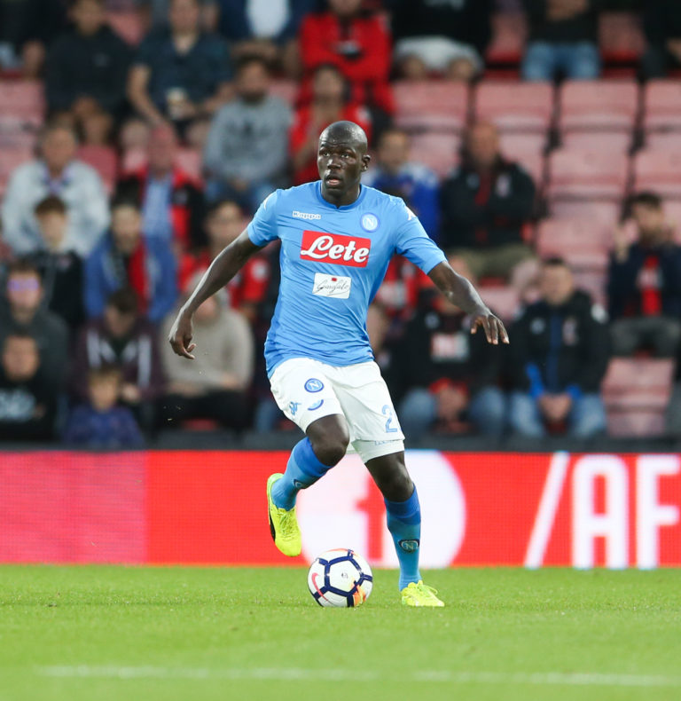 Napoli's Kalidou Koulibaly has been subject of interest from a number of European clubs