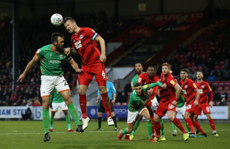 The League Two season could be curtailed