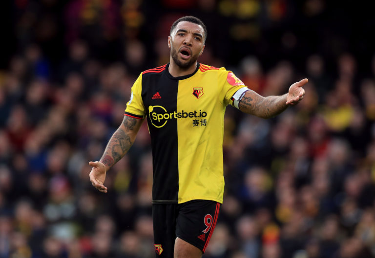 Watford forward Troy Deeney is not prepared to return to training