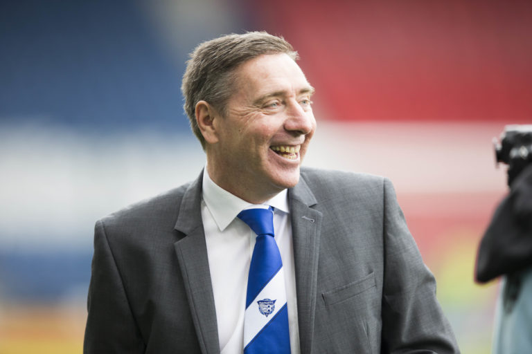 Jim McInally has aired his doubts over next season