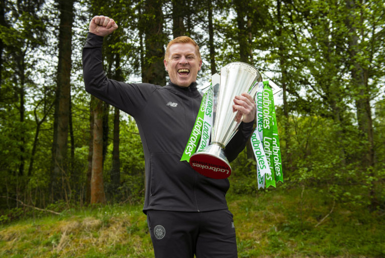 Celtic were crowned Ladbrokes Premiership champions on Monday after the 2019-20 season was curtailed