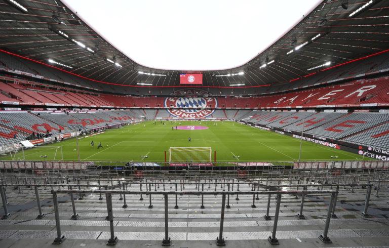 An empty Allianz Arena saw a goalfest on Saturday evening