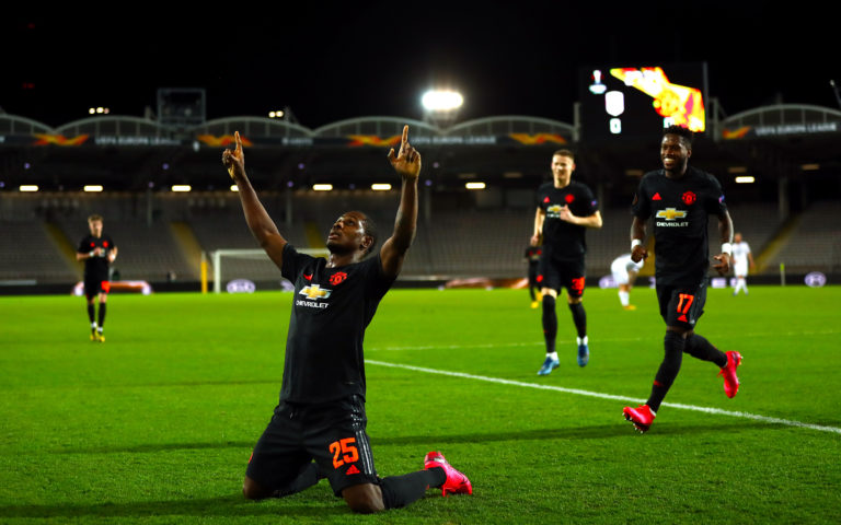 Odion Ighalo scored in his last appearance for Manchester United before the shutdown
