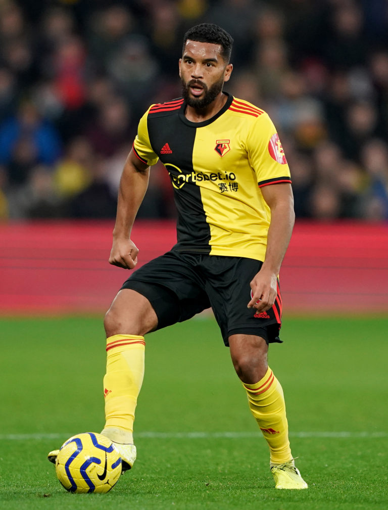 Watford's Adrian Mariappa tested positive for coronavirus in the first round of testing