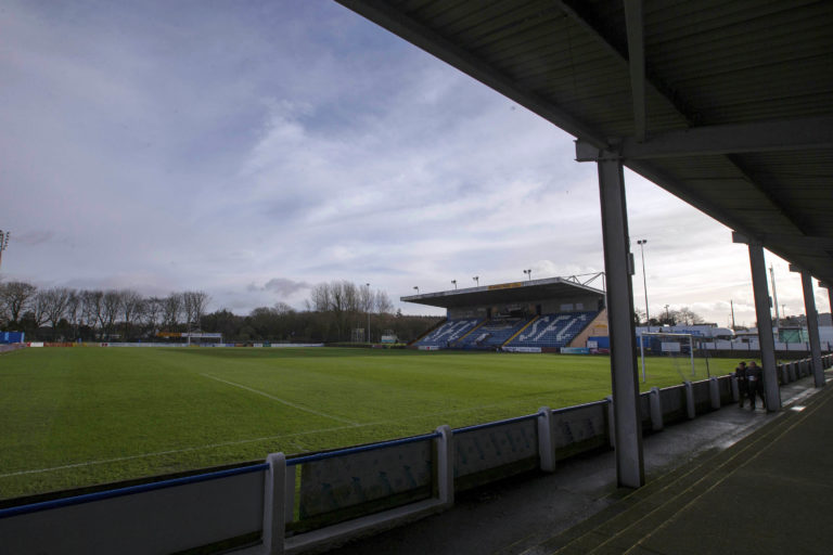Stranraer's Stair Park ground would be hosting bottom-tier football