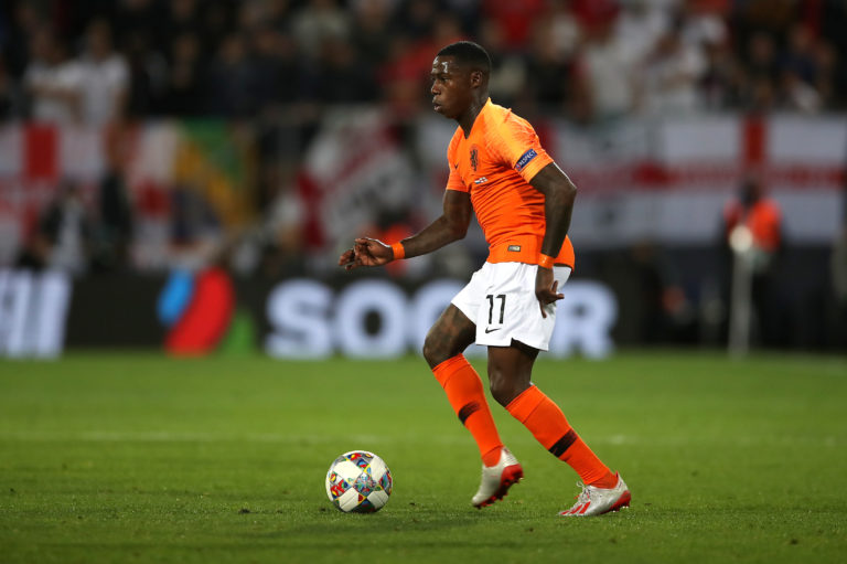 Quincy Promes is a Holland international